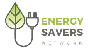 Energy Savers Network 2020 logo plug leaf